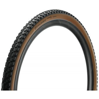 Pirelli Cinturato Gravel M 700x35c TLR Folding Tyre Tanwall Classic