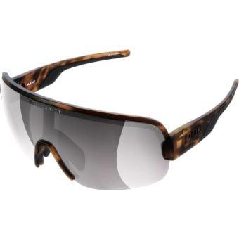 POC Aim Sunglasses Tortoise Brown (Violet Silver Mirror Lens)