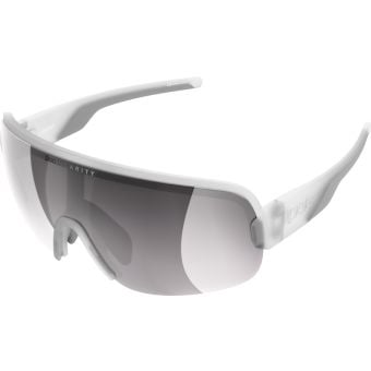 POC Aim Sunglasses Transparent Crystal (Violet Silver Mirror Lens)