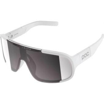 POC Aspire Sunglasses Hydrogen White (Violet Silver Mirror Lens)