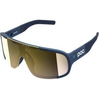 POC Aspire Sunglasses Lead Blue (Violet Gold Mirror Lens)