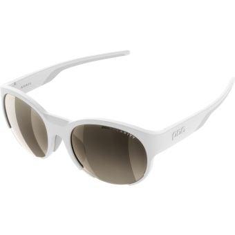 POC Avail Sunglasses Hydrogen White (Brown Silver Mirror Lens)