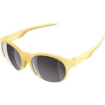 POC Avail Sunglasses Sulfur Yellow (Violet Silver Mirror Lens)