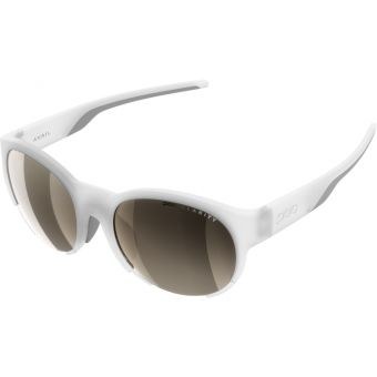 POC Avail Sunglasses Transparent Crystal (Brown Silver Mirror Lens)