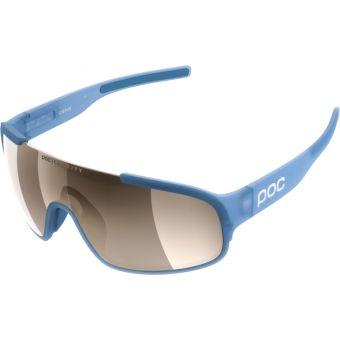 POC Crave Clarity Sunglasses Basalt Blue (Brown Silver Mirror Lens)