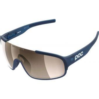 POC Crave Clarity Sunglasses Lead Blue (Brown Silver Mirror Lens)