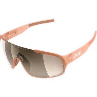 POC Crave Clarity Sunglasses Light Citrine Orange (Brown Silver Mirror Lens)