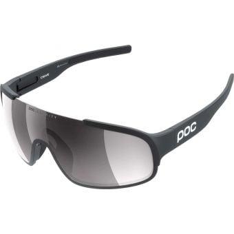 POC Crave Clarity Sunglasses Uranium Black (Violet Silver Mirror Lens)