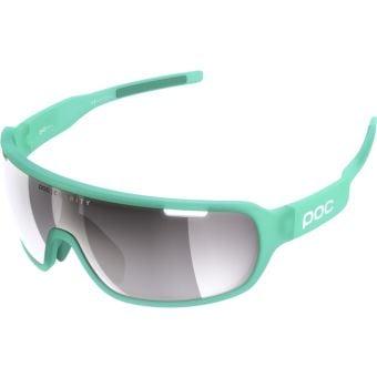POC Do Blade Sunglasses Fluorite Green (Violet Silver Mirror Lens)