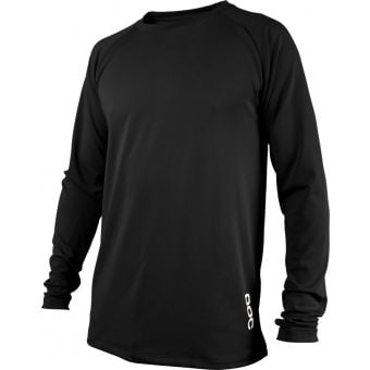 POC Essential DH Long Sleeve Jersey Carbon Black