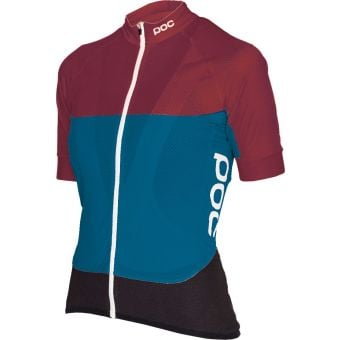 POC Essential Road Womens Light Jersey Polypropylene Red/Blue