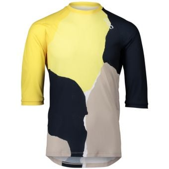 POC MTB Pure 3/4 Jersey Colour Splashes/Yellow 2021