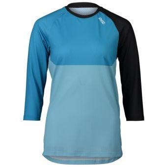 POC MTB Pure 3/4 Womens Jersey Black/Blue 2021