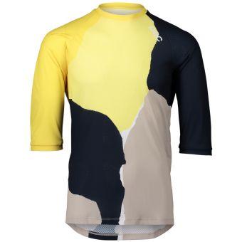 POC MTB Pure 3/4 Womens Jersey Colour Splashes/Yellow 2021
