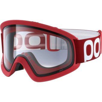POC Ora MTB Goggles Prismane Red (Grey Lens)