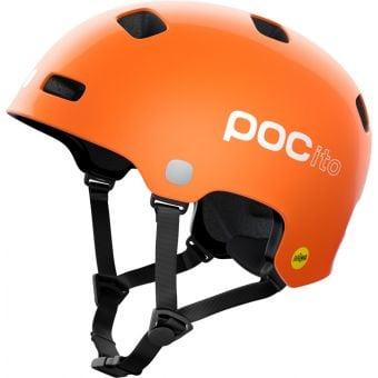 POC POCito Crane MIPS Kids Helmet Fluorescent Orange