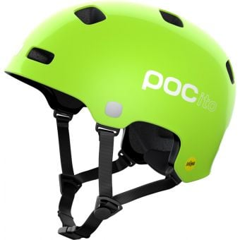 POC POCito Crane MIPS Kids Helmet Fluorescent Yellow/Green