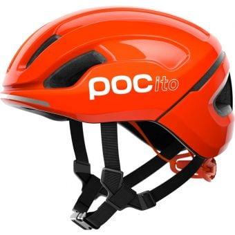 POC POCito Omne SPIN Kids Helmet Fluorescent Orange