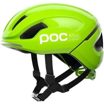 POC POCito Omne SPIN Kids Helmet Fluorescent Yellow/Green