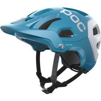 POC Tectal Race SPIN MTB Helmet Basalt Blue/Hydrogen White Matte