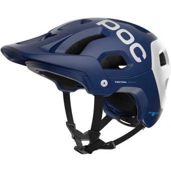 POC Tectal Race SPIN MTB Helmet Lead Blue/Hydrogen White Matte