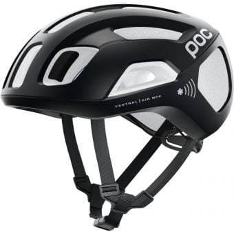POC Ventral Air SPIN NFC Road Helmet Uranium Black/Hydrogen White
