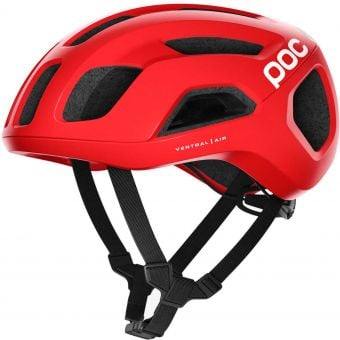 POC Ventral Air SPIN Road Helmet Prismane Red Matte