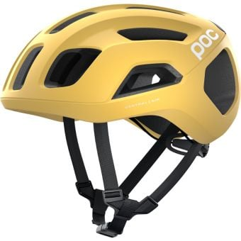 POC Ventral Air SPIN Road Helmet Sulfur Yellow Matte Large