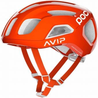 POC Ventral Air SPIN Road Helmet Zink Orange AVIP