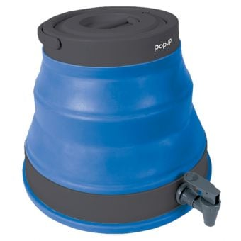 PopUp 12L Collapsible Water Carrier Dispenser Blue