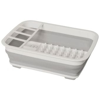 PopUp 8L Collapsible Essentials Dish Drainer White/Grey