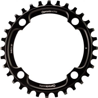Praxis Works 104BCD 32T Wave Tech MTB Chainring Black