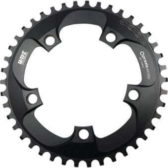 Praxis Works 110BCD 40T Wave Tech CX Chainring Black