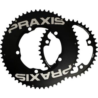 Praxis Works Aero TT 130BCD 53/39T Chainring Set