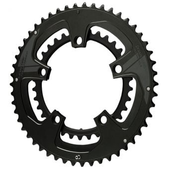 Praxis Works Buzz 110BCD 50/34T Double Road Chainring Set 2Tone Black
