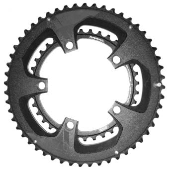 Praxis Works Buzz 110BCD 52/36T Double Road Chainring Set 2Tone Black