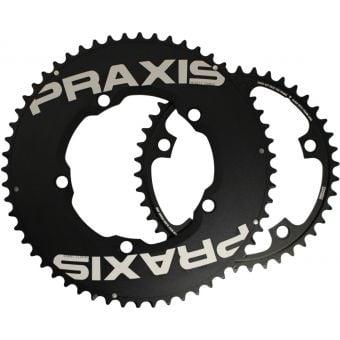 Praxis Works TT 130BCD 54/42T Road Chainrings Black