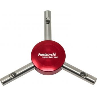 Prestacycle Professional Three Way Y-Bits Tool