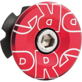 "PRO Gap Cap 1-1/8"" Alloy Steerer Cap Red"