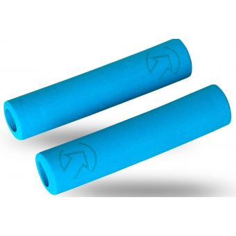 PRO Slide On Silicone XC Grips 130mm x 30mm Blue