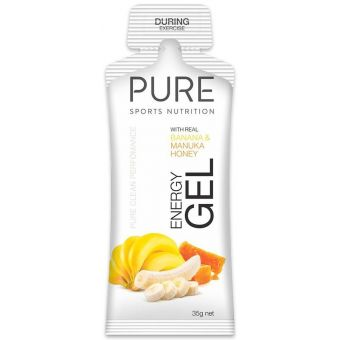 PURE Energy Gel Banana Manuka Honey 35g