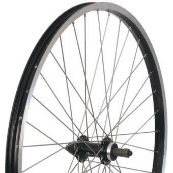 BC 700C QR Alloy Hybrid Rear Wheel Black