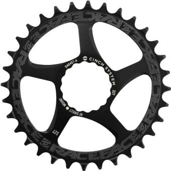 Race Face Narrow Wide Cinch Direct Mount Chainring Black