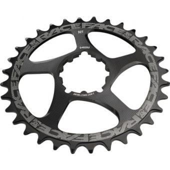 Race Face Narrow Wide 3 Bolt Direct Mount Chainring Black