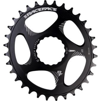 Race Face Direct Mount 34T Cinch Oval Chainring Black
