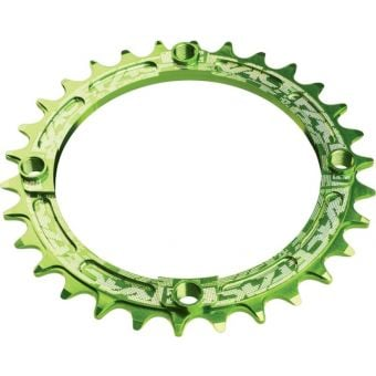 Race Face Narrow Wide 104x30 10-12s Chainring Green