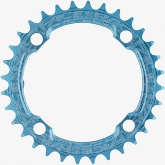 Race Face Narrow Wide 104x32 10-12s Chainring Blue