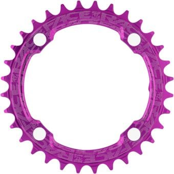 Race Face Narrow Wide 104BCD Chainring Purple 32T