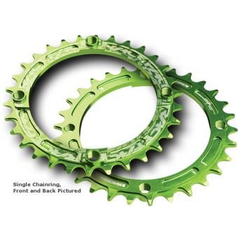 Race Face Narrow Wide 104BCD Chainring Green