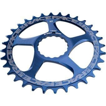 Race Face Narrow Wide Cinch Direct Mount Chainring Blue 30T